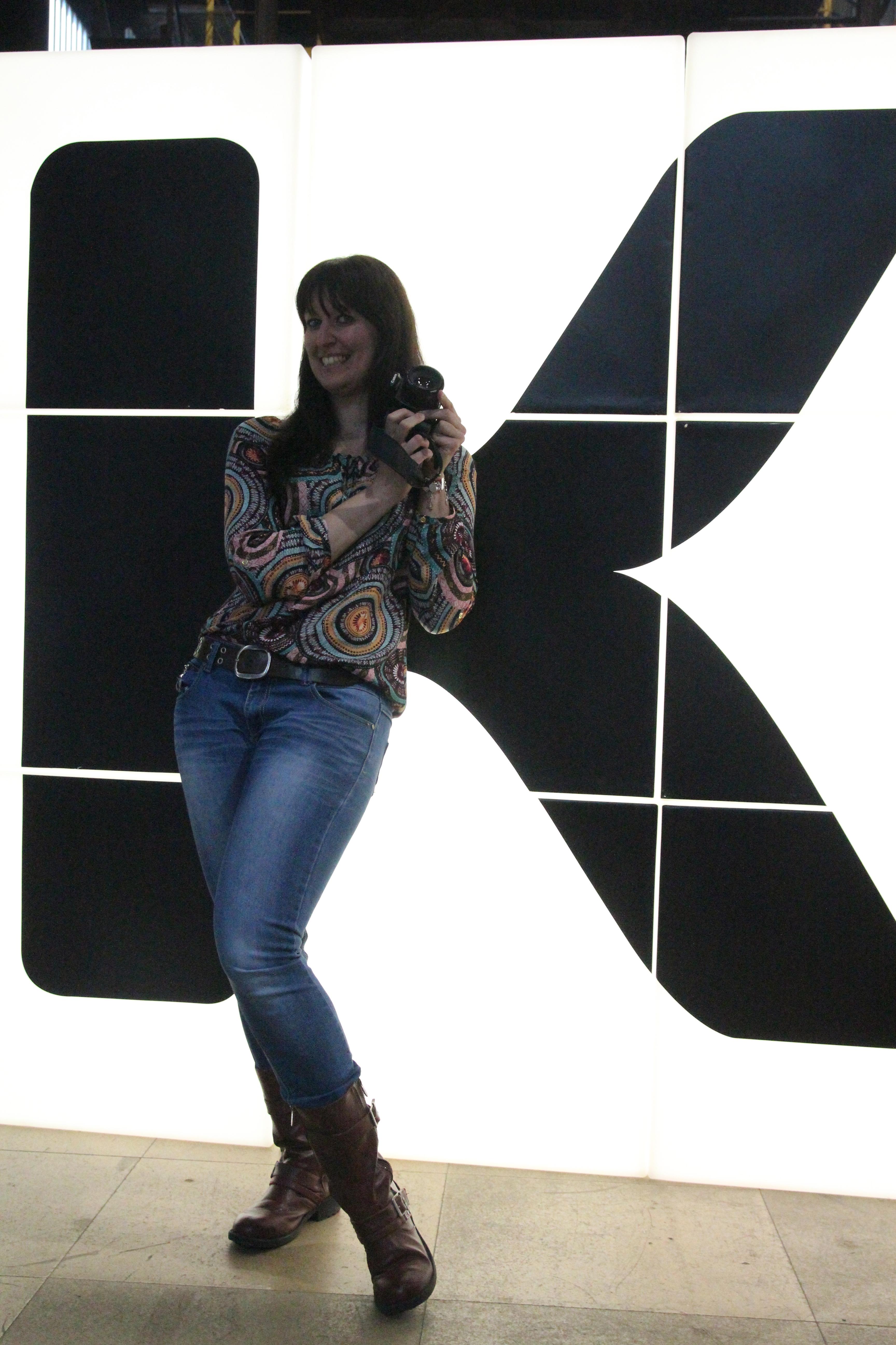 Marie-Laure, notre photographe et supporter
