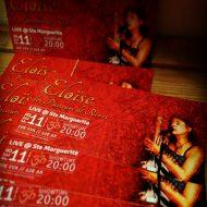 Tickets prévente concert 11.02.2017