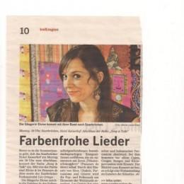 articles de presse en Sarre (DE)
